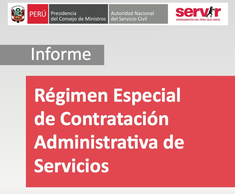 Informe Servir