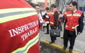 Inspectores laborales